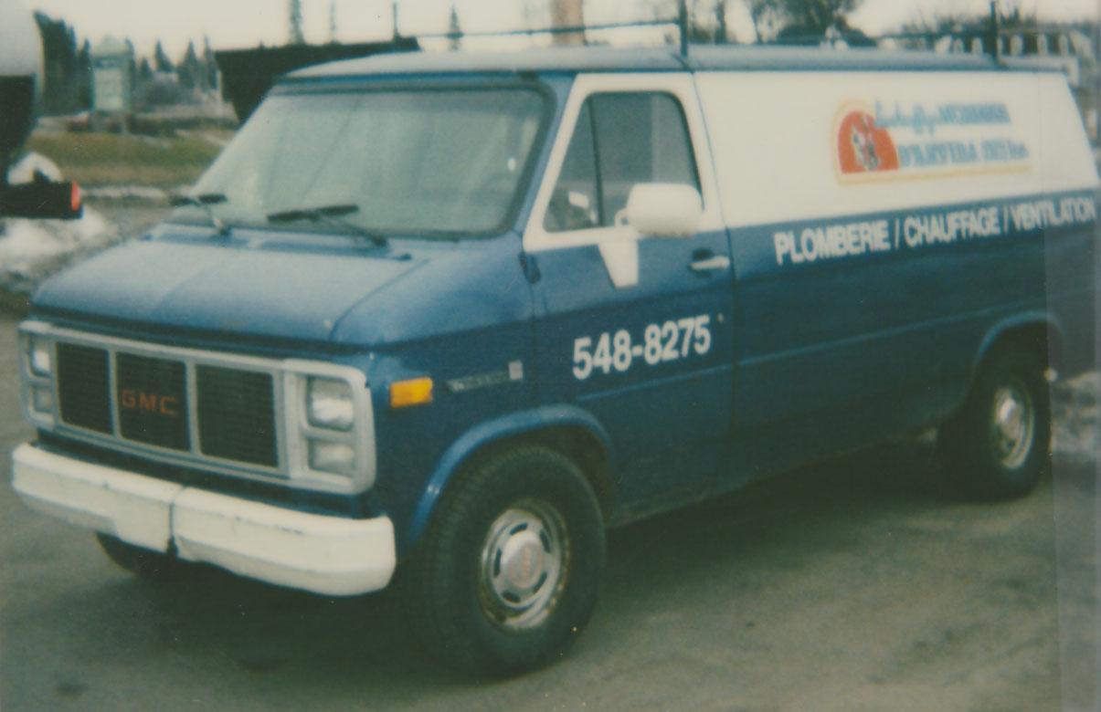 Chauffage moderne camion de service